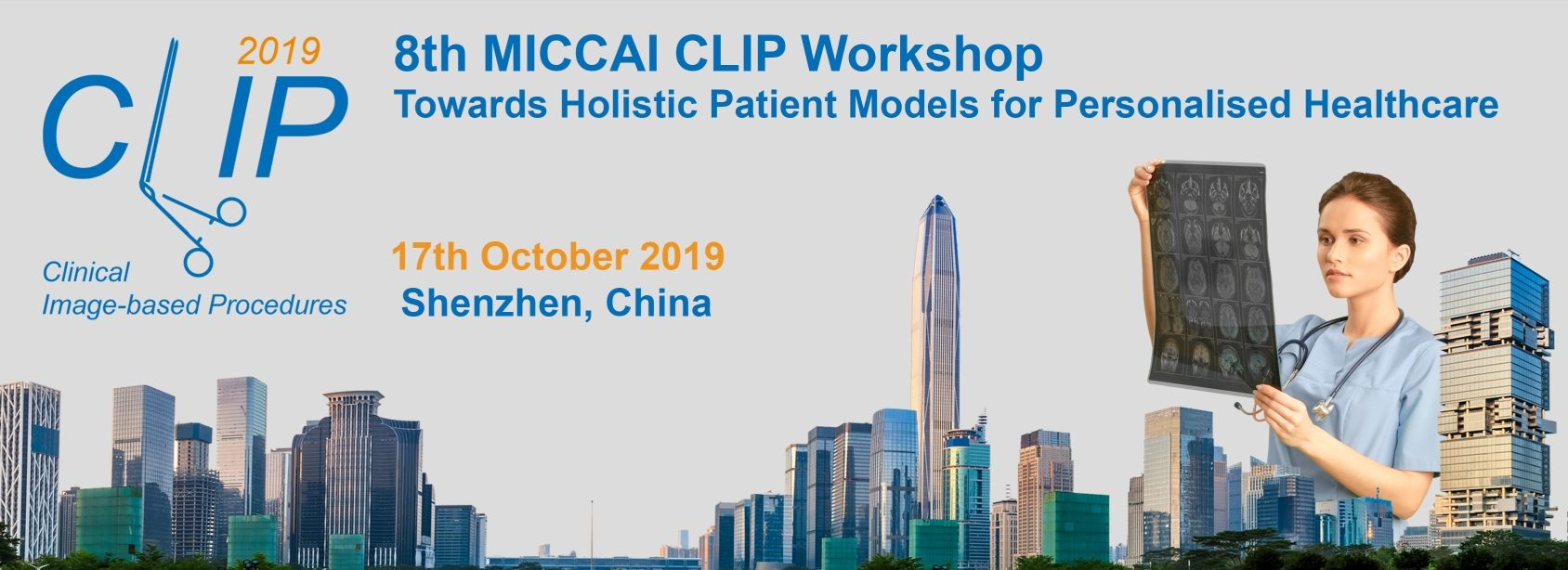 CLIP 2019 – Towards Holistic Patient Models for Personalised Healthcare