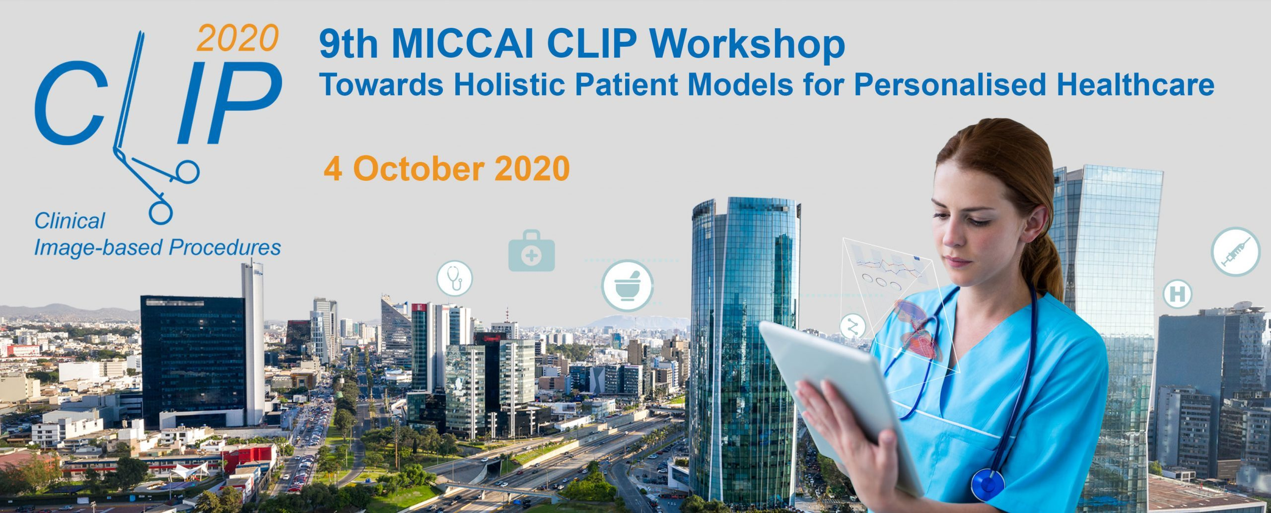 CLIP 2020 – Towards Holistic Patient Models for Personalised Healthcare